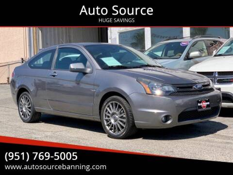 2010 Ford Focus for sale at Auto Source in Banning CA