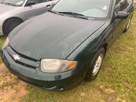 2003 Chevrolet Cavalier for sale at Nash's Auto Sales Used Car Dealer in Milton FL