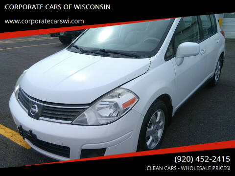 2009 Nissan Versa for sale at CORPORATE CARS OF WISCONSIN - DAVES AUTO SALES OF SHEBOYGAN in Sheboygan WI