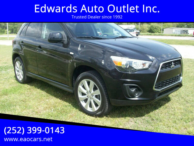 2015 Mitsubishi Outlander Sport for sale at Edwards Auto Outlet Inc. in Wilson NC