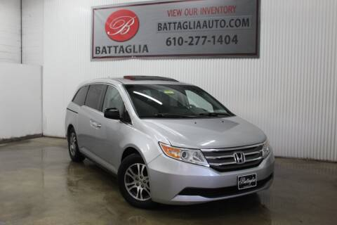 2012 Honda Odyssey for sale at Battaglia Auto Sales in Plymouth Meeting PA