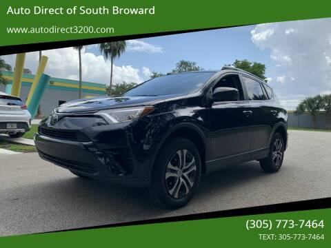 2018 Toyota RAV4 for sale at Auto Direct of South Broward in Miramar FL
