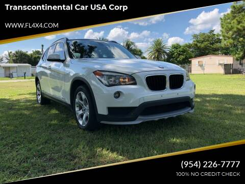2015 BMW X1 for sale at Transcontinental Car USA Corp in Fort Lauderdale FL