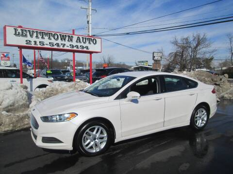2014 Ford Fusion for sale at Levittown Auto in Levittown PA