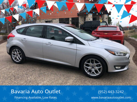 2015 Ford Focus for sale at Bavaria Auto Outlet in Victoria MN
