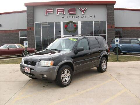2004 Ford Escape for sale at Frey Automotive in Muskego WI