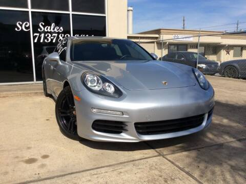 2014 Porsche Panamera for sale at SC SALES INC in Houston TX