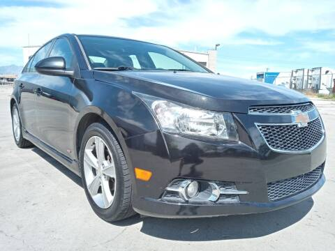 2014 Chevrolet Cruze for sale at AUTOMOTIVE SOLUTIONS in Salt Lake City UT