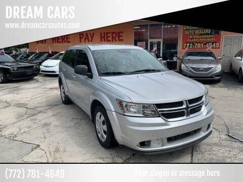 2014 Dodge Journey for sale at DREAM CARS in Stuart FL