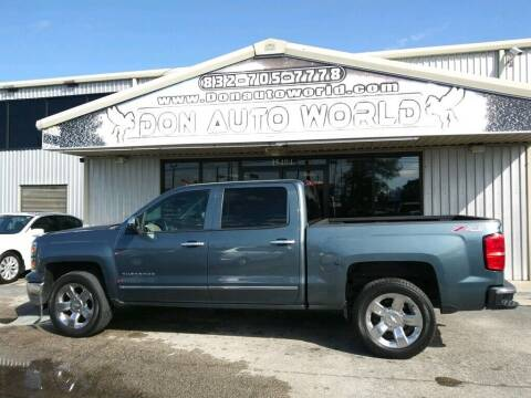 2014 Chevrolet Silverado 1500 for sale at Don Auto World in Houston TX