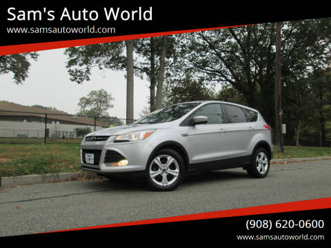 2015 Ford Escape for sale at Sam's Auto World in Roselle NJ