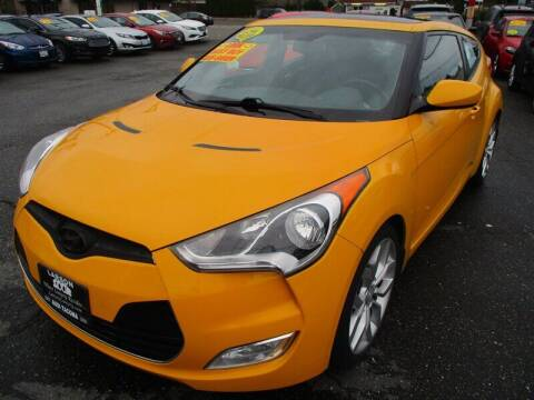 2012 Hyundai Veloster for sale at GMA Of Everett in Everett WA