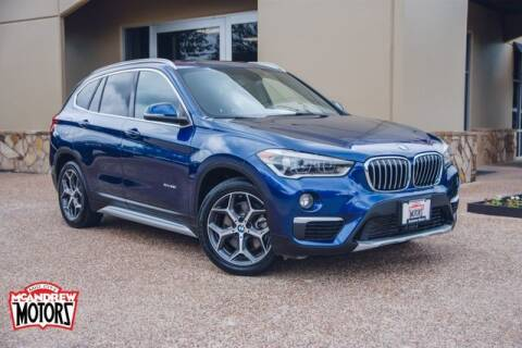 2016 BMW X1 for sale at Mcandrew Motors in Arlington TX