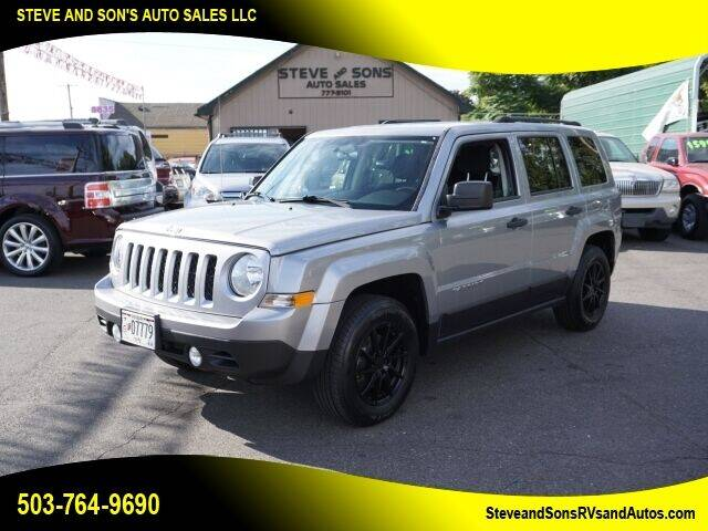 2015 Jeep Patriot for sale at Steve & Sons Auto Sales in Happy Valley OR