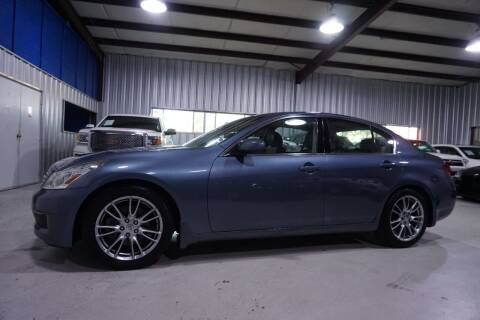 2008 Infiniti G35 for sale at SOUTHWEST AUTO CENTER INC in Houston TX