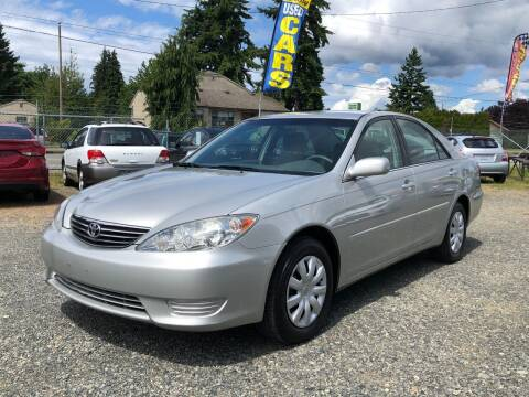 2005 Toyota Camry for sale at A & V AUTO SALES LLC in Marysville WA