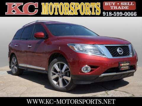 2013 Nissan Pathfinder for sale at KC MOTORSPORTS in Tulsa OK