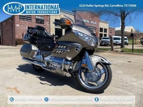 2006 Honda Goldwing for sale at International Motor Productions in Carrollton TX