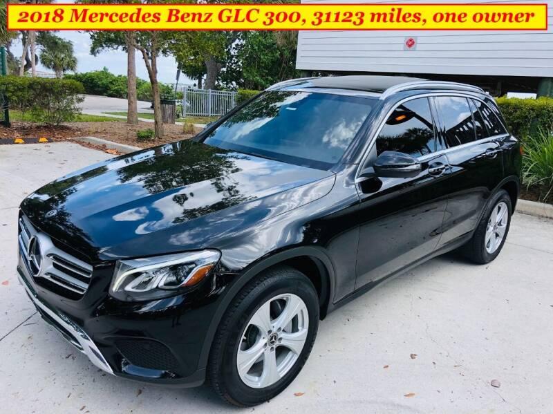 2018 Mercedes-Benz GLC for sale at SIMON & DAVID AUTO SALE in Port Charlotte FL