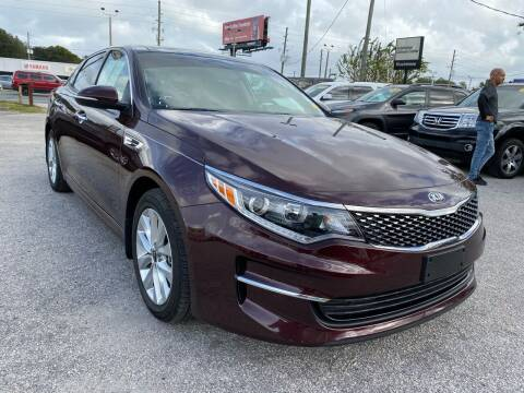 2018 Kia Optima for sale at Marvin Motors in Kissimmee FL