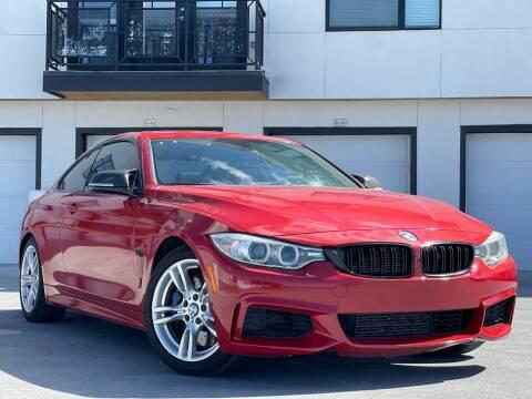 2014 BMW 4 Series for sale at Avanesyan Motors in Orem UT