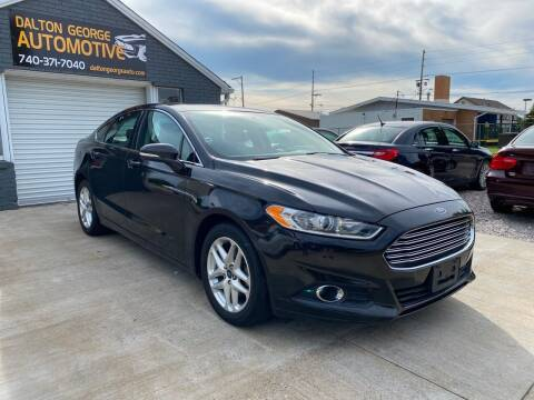 2013 Ford Fusion for sale at Dalton George Automotive in Marietta OH