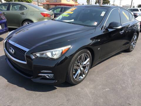 2015 Infiniti Q50 for sale at Auto Max of Ventura in Ventura CA