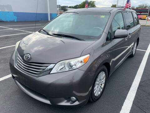 2012 Toyota Sienna for sale at Eden Cars Inc in Hollywood FL