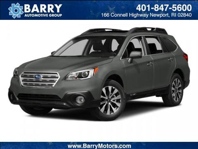 2015 Subaru Outback for sale at BARRYS Auto Group Inc in Newport RI