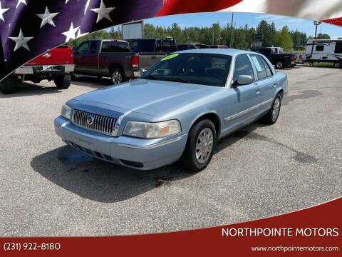 2007 Mercury Grand Marquis for sale at Northpointe Motors in Kalkaska MI