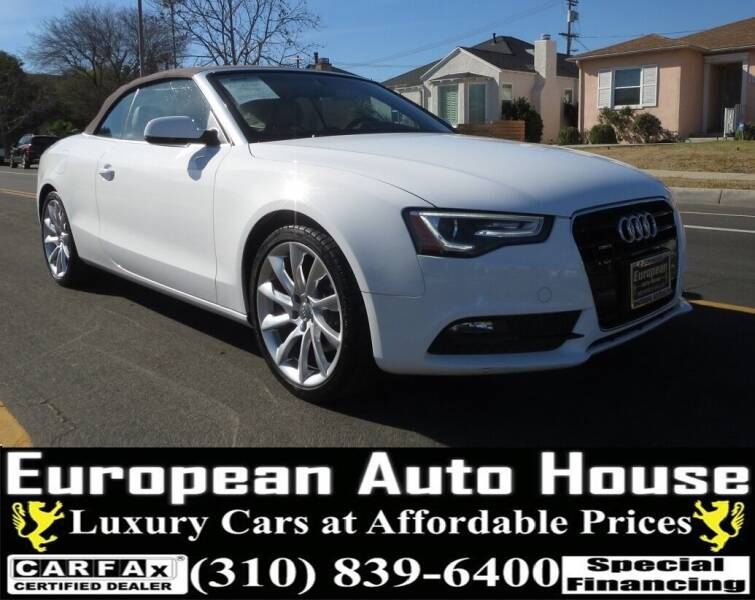 2013 Audi A5 for sale at European Auto House in Los Angeles CA