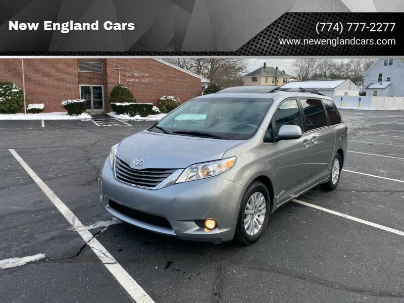2014 Toyota Sienna for sale at New England Cars in Attleboro MA