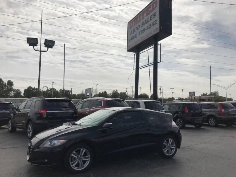 2011 Honda CR-Z for sale at United Auto Sales in Oklahoma City OK