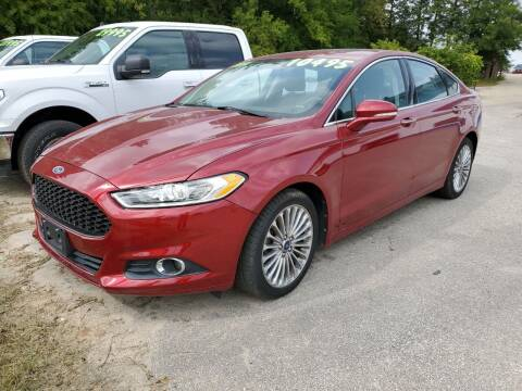 2014 Ford Fusion for sale at Don's Sport Cars in Hortonville WI