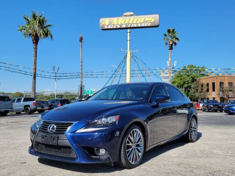 2015 Lexus IS 250 for sale at A MOTORS SALES AND FINANCE in San Antonio TX