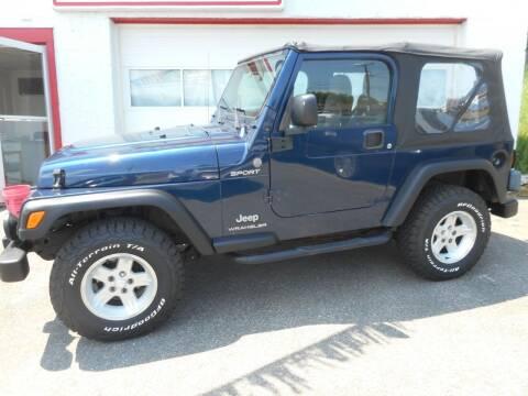2004 Jeep Wrangler for sale at Ricciardi Auto Sales in Waterbury CT