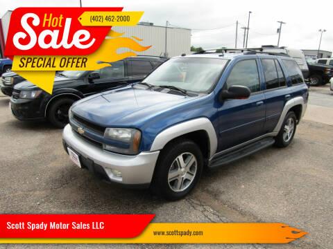 2005 Chevrolet TrailBlazer for sale at Scott Spady Motor Sales LLC in Hastings NE