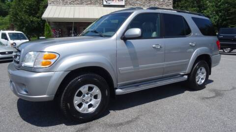 2001 Toyota Sequoia for sale at Driven Pre-Owned in Lenoir NC