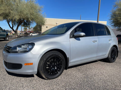 2012 Volkswagen Golf for sale at Tucson Auto Sales in Tucson AZ