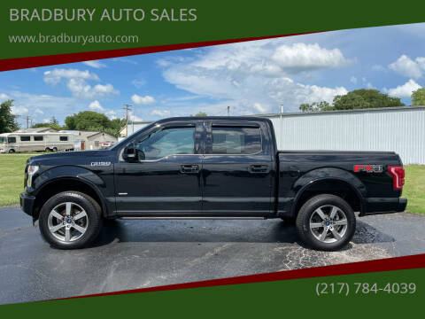 2017 Ford F-150 for sale at BRADBURY AUTO SALES in Gibson City IL