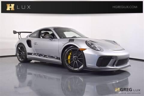 2019 Porsche 911 for sale at HGREG LUX EXCLUSIVE MOTORCARS in Pompano Beach FL