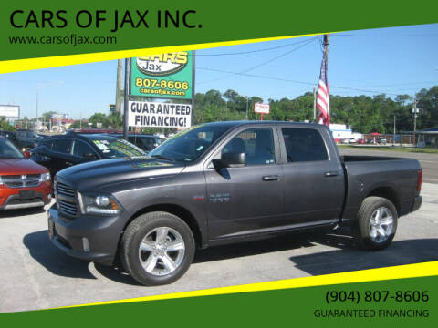 2014 RAM Ram Pickup 1500 for sale at CARS OF JAX INC. in Jacksonville FL