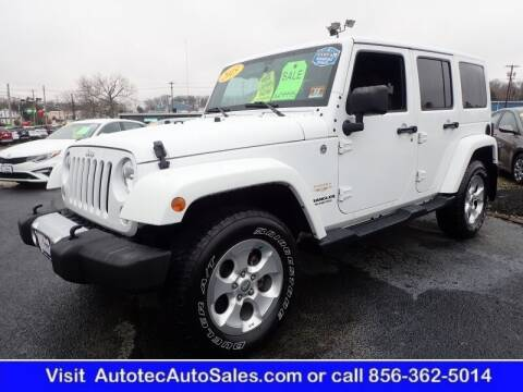 2015 Jeep Wrangler Unlimited for sale at Autotec Auto Sales in Vineland NJ