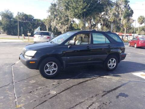 2001 Lexus RX 300 for sale at BSS AUTO SALES INC in Eustis FL