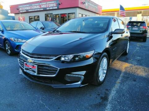 2018 Chevrolet Malibu for sale at International Motors in Laurel MD