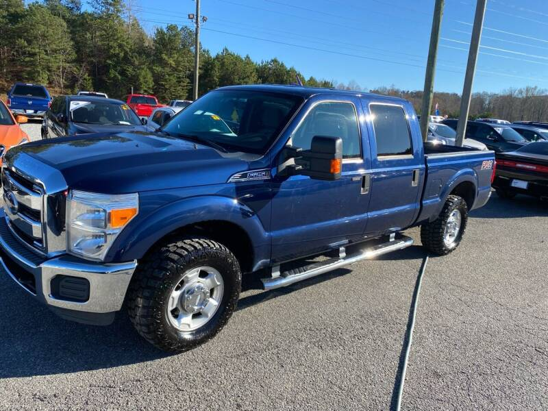 2011 Ford F-250 Super Duty for sale at Billy Ballew Motorsports in Dawsonville GA