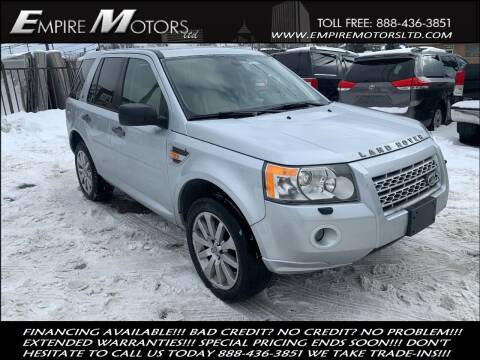 2008 Land Rover LR2 for sale at Empire Motors LTD in Cleveland OH