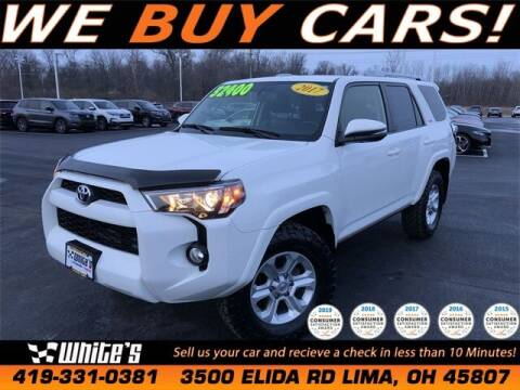 2017 Toyota 4Runner for sale at White's Honda Toyota of Lima in Lima OH