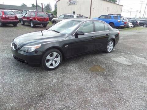 2007 BMW 5 Series for sale at Terrys Auto Sales in Somerset PA