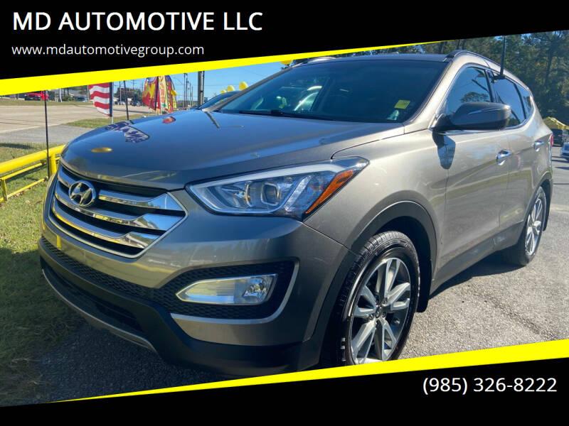 2016 Hyundai Santa Fe Sport for sale at MD AUTOMOTIVE LLC in Slidell LA